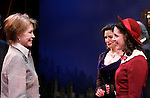 """***EXCLUSIVE COVERAGE*** Mary Tyler Moore visits the cast of """"Enter Laughing"""" at the York Theatre Company in New York City.<br />February 26, 2009<br />pictured: Mary Tyler Moore with Marla Schaffel & Emily Shoolin"""