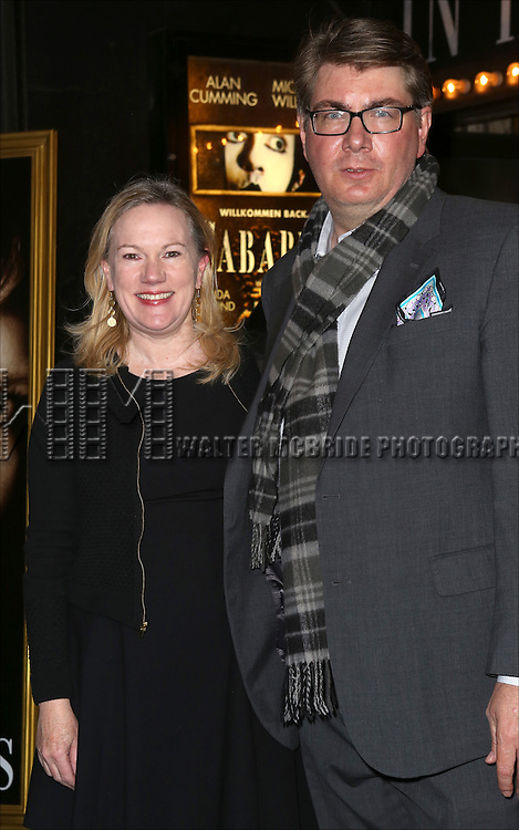 Kathleen Marshall and Scott Landis attending the Broadway Opening Night Performance of 'Cabaret' at Studio 54 on April 24, 2014 in New York City.