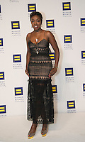 Washington DC,September 10, 2016, USA:  The 20th Annual Human Rights Campaign (HRC) dinner takes place in Washington DC. Speakers and entertainment includes singer Estelle   Patsy Lynch/MediaPunch