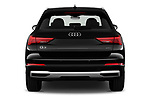 Straight rear view of 2019 Audi Q3 Premium-Plus 5 Door SUV Rear View  stock images