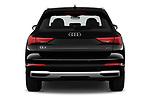 Straight rear view of 2019 Audi Q3 Premium-Plus 5 Door SUV Rear View  stock images