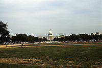 Washington D.C. : Capitol Building from the Mall. Photo '85.