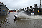 High tide at Ship Street. Photo:Colin Bell/pressphotos.ie