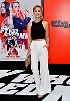 Riley Voelkel at the world premiere for &quot;The Spy Who Dumped Me&quot; at the Fox Village Theatre, Los Angeles, USA 25 July 2018<br /> Picture: Paul Smith/Featureflash/SilverHub 0208 004 5359 sales@silverhubmedia.com