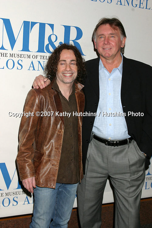"""Mike Darnell & Ken Warwick.""""American Idol"""" Honored by the.24th Annual William S. Paley Television Festival.Museum of TV & Radio.Director's Guild.Los Angeles, CA.March 1, 2007.©2007 Kathy Hutchins / Hutchins Photo..."""