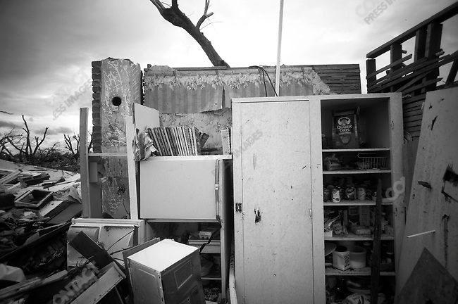What's left of a kitchen cupboard. Joplin, Mo. May 26, 2011...