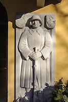 Seelenkapelle aus dem 15. Jh., seit 1931 Kriegerged&auml;chtnisst&auml;tte in Oberstdorf im Allg&auml;u, Bayern, Deutschland<br /> Chapel of souls. 15.c. since 1931 war memorial  in Oberstdorf, Allg&auml;u, Bavaria,  Germany