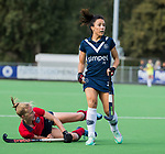 AMSTELVEEN  -  Anna O'Flanagan (Pin) , hoofdklasse hockeywedstrijd dames Pinole-Laren (1-3). COPYRIGHT  KOEN SUYK