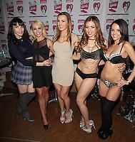 Dana DeArmond, Aaliyah Love, Tanya Tate, Yurizan Beltran, Dillion Harper at AVN Expo, <br /> Hard Rock Hotel, <br /> Las Vegas, NV, Thursday January 16, 2014.