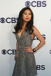 Liza Lapira arrives at the CBS Upfront at The Plaza Hotel in New York City on May 17, 2017.