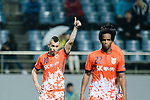 Jeju United Forward Marcelo Toscano (L) gestures during the AFC Champions League 2017 Group H match Between Jeju United FC (KOR) vs Gamba Osaka (JPN) at the Jeju World Cup Stadium on 09 May 2017 in Jeju, South Korea. Photo by Marcio Rodrigo Machado / Power Sport Images