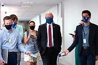United States Senator Kevin Cramer (Republican of North Dakota) arrives to GOP policy luncheons on Capitol Hill in Washington D.C., U.S., on Tuesday, June 9, 2020.  Credit: Stefani Reynolds / CNP/AdMedia