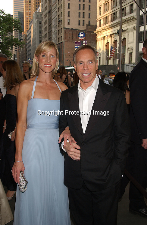 Tommy HIlfiger & girlfriend                               ..at the CFDA Fashion Awards on June 2,2003 at the ..New York Public Library. Photo by Robin Platzer, Twin Images