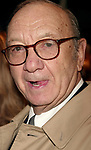 Neil Simon Attending the Opening night performance of Neil Simon's THE ODD COUPLE at the Brooks Atkinson Theatre in New York City.<br />