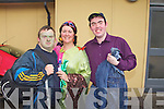 "Pictured after ''My Big Fat Bug Wedding"" in Presentation Primary School on Friday as part of Féile na mBláth. Brendan O'Sullivan, Noelle Kingston and Fergal Keane."