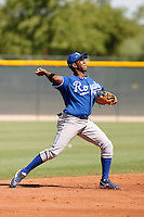 Deivy Batista - Kansas City Royals 2009 Instructional League. .Photo by:  Bill Mitchell/Four Seam Images..