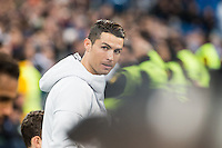 Cristiano Ronaldo of Real Madrid during the match of Spanish La Liga between Real Madrid and UD Las Palmas at  Santiago Bernabeu Stadium in Madrid, Spain. March 01, 2017. (ALTERPHOTOS / Rodrigo Jimenez) /NORTEPHOTOmex