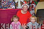 Castlemaine Family Resource Centre are organising a traditional Christmas Extravaganza to raise funds for the community centre which has suffered from cut-backs to funding this year. .Pictured L-R Dolly Sheehan, Co-ordinator of centre, Niamh Sheridan and Caleb Sheehan