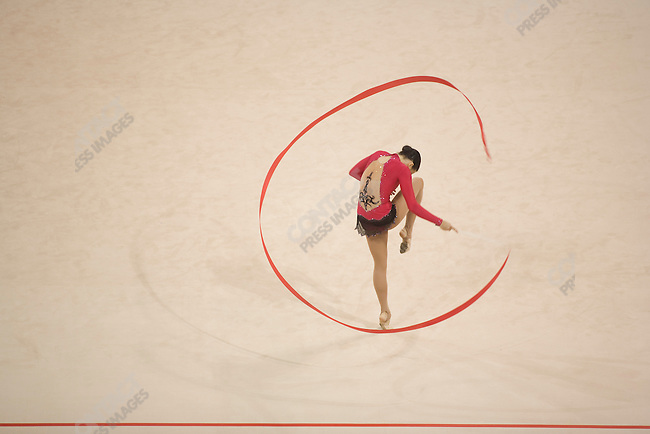 Rhythmic Gymnastics, qualifying rounds, Summer Olympics, Beijing, China, August 22, 2008