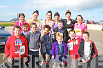 RUN: Running in the 10-5k Kerryhead Resourse Centre, Ballyheigue on Sunday Front l-r: Kyle reidy, Gearoid Harty, Muiris Harty, Paige and Shannon Drury, Jack Stack,Luke McChroghan and Adam O'Leary. Back l-r: Aisling Harty. Jenny Dee, Clarisa Garcia, Susan Horgan, Samanta Drury and Claire Lucid.