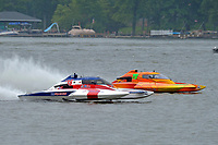 "John Shaw, E-35 ""T M Special"", Patrick Haworth, E-79 ""Bad Influence""  (5 Litre class hydroplane(s)"