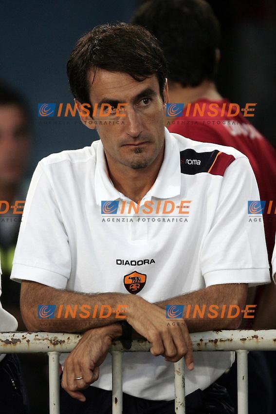 Roma 29/8/2004 Amichevole di presentazione AS Roma. Friendly match Roma - Iran 5-3. Gabriele Pini vice allenatore della Roma<br /> Foto Andrea Staccioli Insidefoto