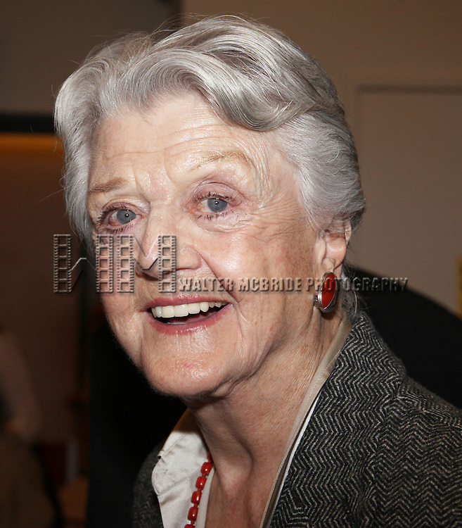 Angela Lansbury.attending 'Gore Vidal's The Best Man' Press Conference at the Duke 42nd Street Studio's in New York City. 2/1/2012.