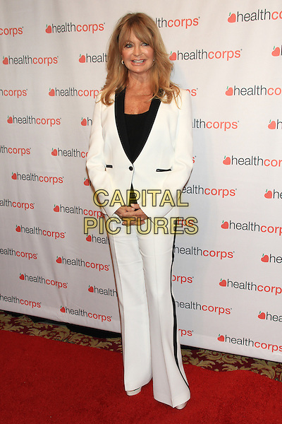 NEW YORK, NY - APRIL 9: Goldie Hawn attends HealthCorps' 8th Annual Gala at the Waldorf-Astoria on April 9, 2014 in NEW YORK CITY<br /> CAP/LNC/TOM<br /> &copy;TOM/LNC/Capital Pictures