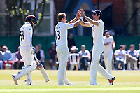 Neil Wagner of Essex claims the wicket of Sam Curran during Surrey CCC vs Essex CCC, Specsavers County Championship Division 1 Cricket at Guildford CC, The Sports Ground on 10th June 2017