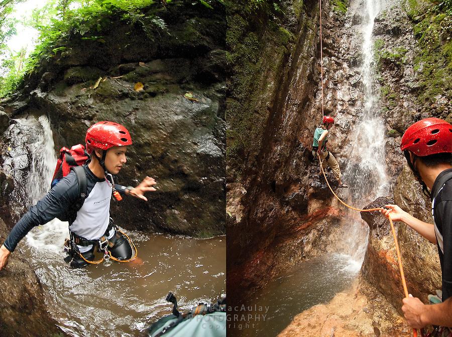 Canyoneering, La Fortuna, Arenal, Costa Rica