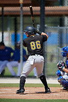 Pittsburgh Pirates designated hitter Deon Stafford (86) at bat during a Florida Instructional League game against the Toronto Blue Jays on September 20, 2018 at the Englebert Complex in Dunedin, Florida.  (Mike Janes/Four Seam Images)