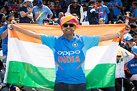 Indian fans fly the flag at the Oval during India vs Australia, ICC World Cup Cricket at The Oval on 9th June 2019