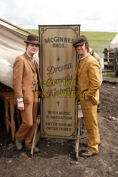 Ben Esler &amp; Philip Burke<br /> in Hell On Wheels (Season 1, Episode 4, &quot;Jamais je ne t'oublierai&quot;)<br /> *Filmstill - Editorial Use Only*<br /> CAP/NFS<br /> Image supplied by Capital Pictures
