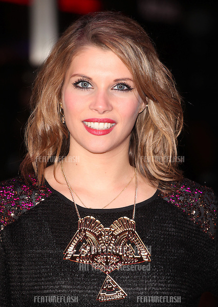 Pips Taylor arriving for the World Premiere of Gambit, at the Empire Leicester Square, London. 07/11/2012 Picture by: Alexandra Glen / Featureflash