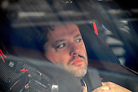 May 1, 2009; Richmond, VA, USA; NASCAR Sprint Cup Series driver Tony Stewart during practice for the Russ Friedman 400 at the Richmond International Raceway. Mandatory Credit: Mark J. Rebilas-