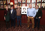 Gretchen Mol, Kenneth Lonergan, Josh Hamilton, CJ Wilson, Matthew Broderick attend the unveiling of the Kenneth Lonergan caricature at Sardi's on February 17, 2017 in New York City.