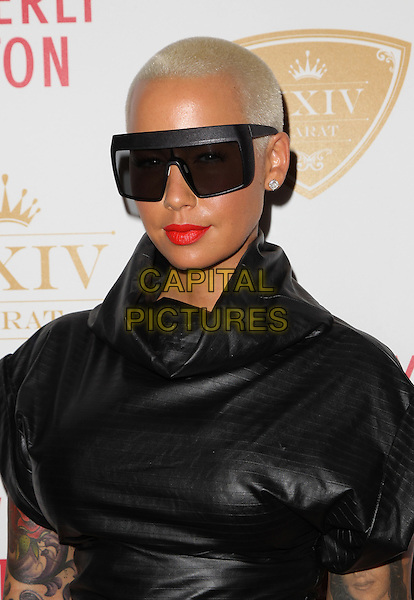 Beverly Hills, CA - October 16: Amber Rose Attending The XXIV Karat Launch Party At The Beverly Hilton At The Beverly Hilton Hotel California on October 16, 2014.  <br /> CAP/MPI/RTNUPA<br /> &copy;RTNUPA/MediaPunch/Capital Pictures