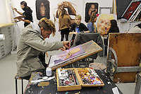 - Milano, Accademia di belle Arti di Brera, laboratorio di pittura<br /> <br /> - Milan, the Brera Academy of Fine Arts, painting workshop