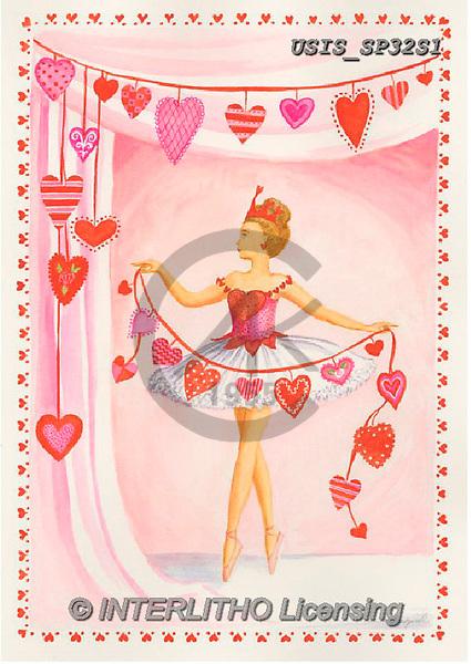 Ingrid, VALENTINE, VALENTIN, paintings+++++,USISSP32S1,#v#, EVERYDAY,ballett, hearts