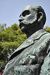 Statue of Thomas Blake Glover at Glover House at Nagasaki Glover Garden.