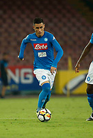 Jose Callejon  during the  italian serie a soccer match,between SSC Napoli and Atalanta      at  the San  Paolo   stadium in Naples  Italy , August 27, 2017