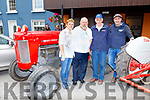 Eileen Hickey, Finan Hickey, Dan and Donal Breen at the Kilgarvan Tractor run on Sunday