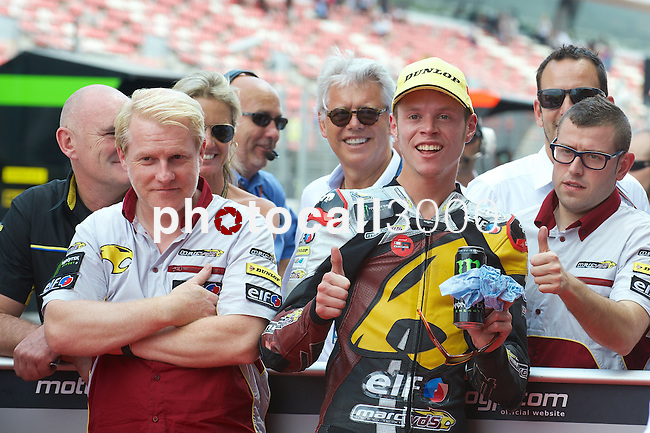 Gran Premi Monster de Catalunya in Montmeló Circuit<br /> 14/06/2014 <br /> moto2 free&qualifyng practices<br /> tito rabat<br />RM/PHOTOCALL3000