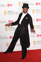 Ore Oduba<br /> in the winners room for the BAFTA TV Awards 2018 at the Royal Festival Hall, London<br /> <br /> ©Ash Knotek  D3401  13/05/2018