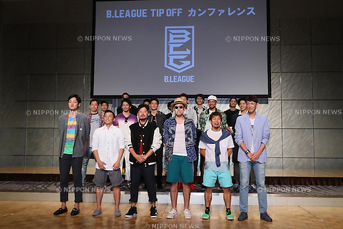 General view, <br /> SEPTEMBER 12, 2016 - Basketball : <br /> 2016-17 B.LEAGUE Tip off Conference <br /> in Tokyo, Japan. <br /> (Photo by YUTAKA/AFLO SPORT)