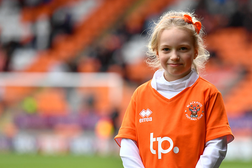 Blackpool match mascot<br /> <br /> Photographer Terry Donnelly/CameraSport<br /> <br /> The EFL Sky Bet League Two - Blackpool v Accrington Stanley - Friday 14th April 2017 - Bloomfield Road - Blackpool<br /> <br /> World Copyright &copy; 2017 CameraSport. All rights reserved. 43 Linden Ave. Countesthorpe. Leicester. England. LE8 5PG - Tel: +44 (0) 116 277 4147 - admin@camerasport.com - www.camerasport.com