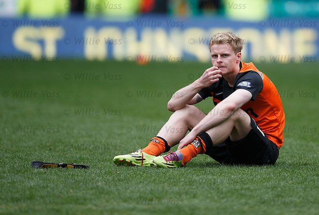 Dejection from Gary Mackay-Steven at the final whistle