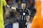 02 May 2015: Referee Chris Penso. The Carolina RailHawks hosted the Tampa Bay Rowdies at WakeMed Stadium in Cary, North Carolina in a North American Soccer League 2015 Spring Season match. The game ended in a 1-1 tie.