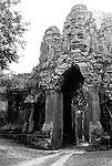Angkor Thom East Gate 01 - Angkor Thom East Gate from the western side, Cambodia