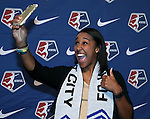 15 January 2016: Brianne Reed was taken with the #18 overall pick by FC Kansas City. The 2016 NWSL College Draft was held at The Baltimore Convention Center in Baltimore, Maryland as part of the annual NSCAA Convention.